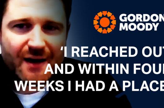 Gordon Moody Quote